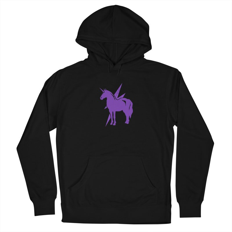 Unicorn Hoodies Men's Pullover Hoody by Life Lurking's Artist Shop