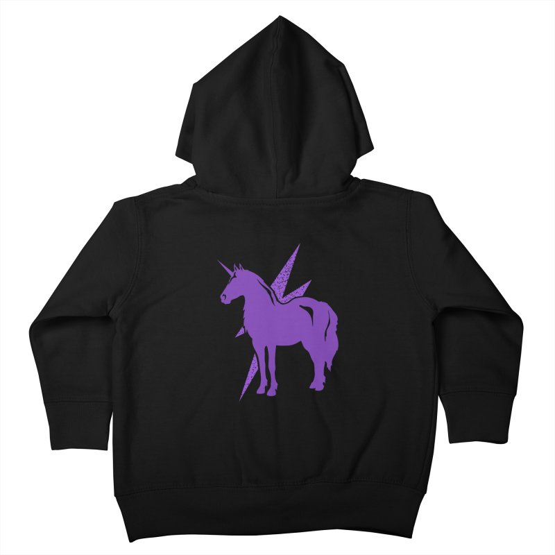 Unicorn Hoodies Kids Toddler Zip-Up Hoody by Life Lurking's Artist Shop