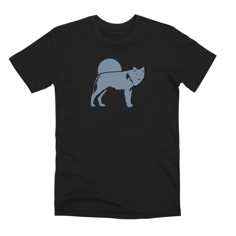 Wolf T-shirt Men's T-Shirt by Life Lurking's Artist Shop