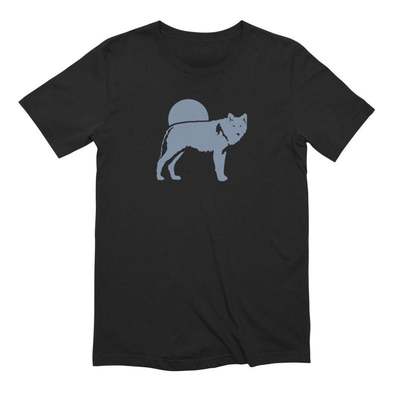 Wolf T-shirt Men's T-Shirt by Life Lurking's Artist Shop