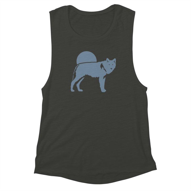 Wolf T-shirt Women's Tank by Life Lurking's Artist Shop