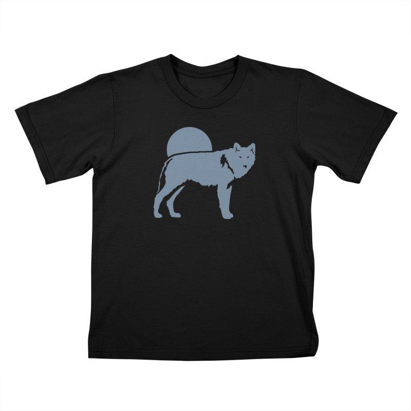 Wolf T-shirt Kids T-Shirt by Life Lurking's Artist Shop