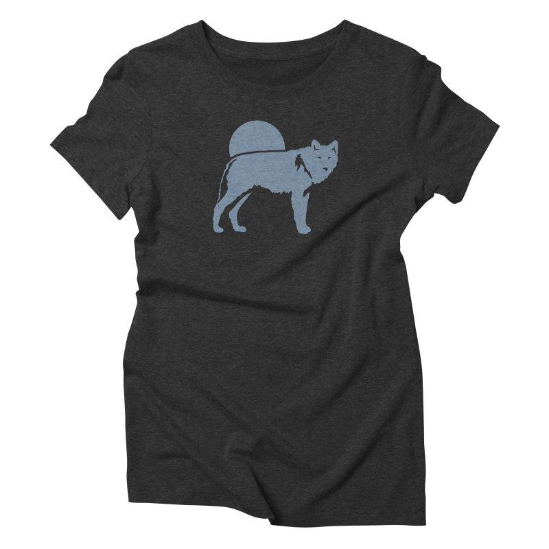 Wolf T-shirt Women's T-Shirt by Life Lurking's Artist Shop
