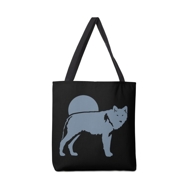 Wolf T-shirt Accessories Bag by Life Lurking's Artist Shop