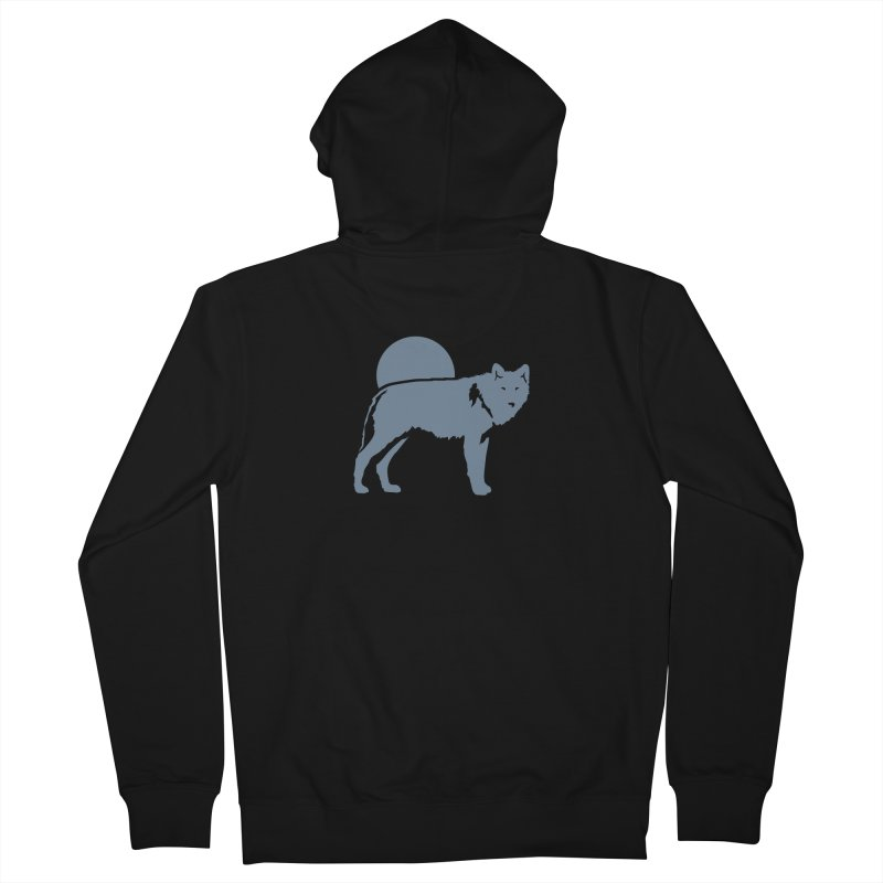 Wolf Hoodies Women's Zip-Up Hoody by Life Lurking's Artist Shop