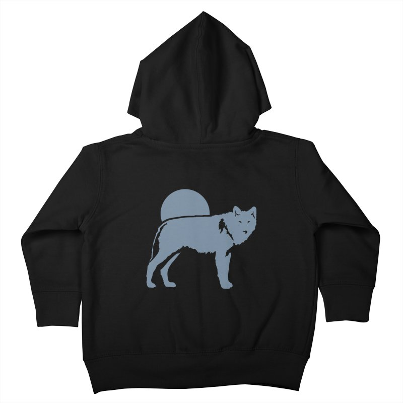 Wolf Hoodies Kids Toddler Zip-Up Hoody by Life Lurking's Artist Shop