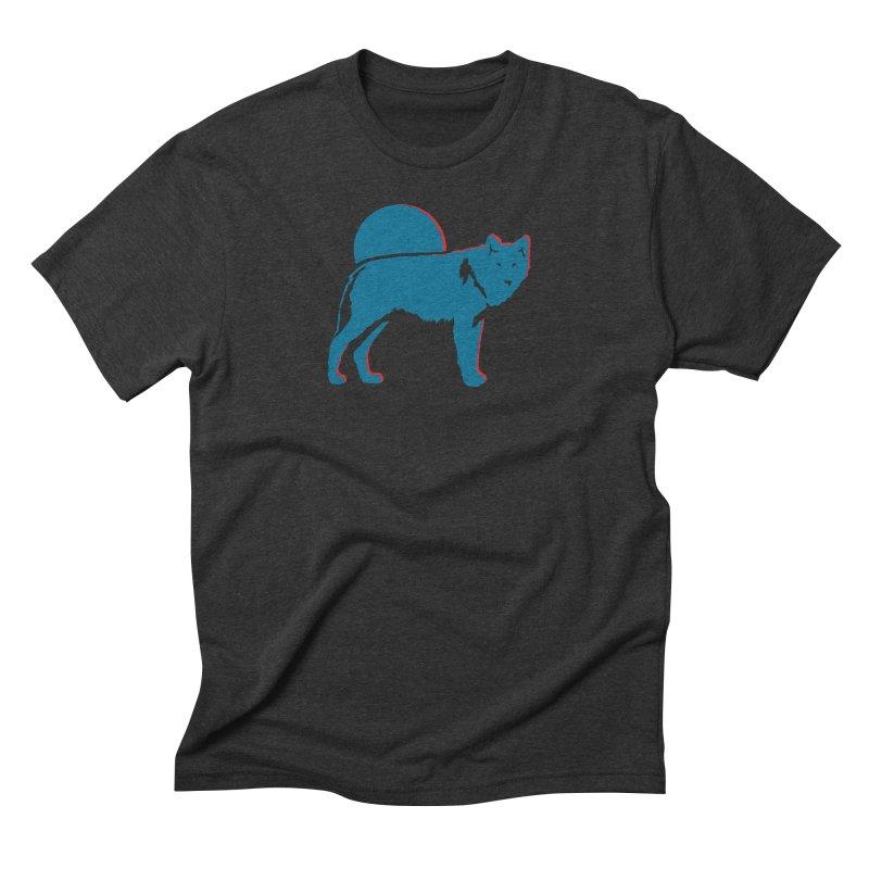 Wolf 3D Style T-shirts Men's T-Shirt by Life Lurking's Artist Shop