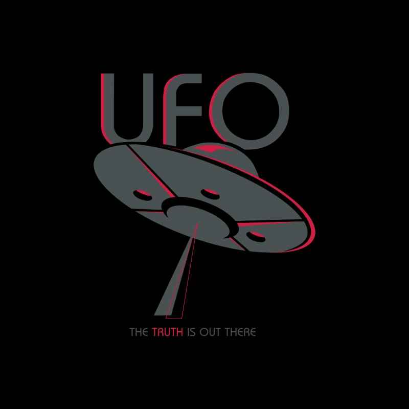 UFO T-shirt by Life Lurking's Artist Shop