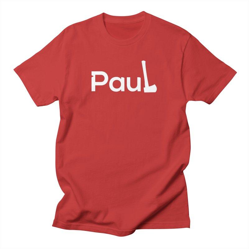 Paul With An Axe T-shirts Men's T-Shirt by Life Lurking's Artist Shop