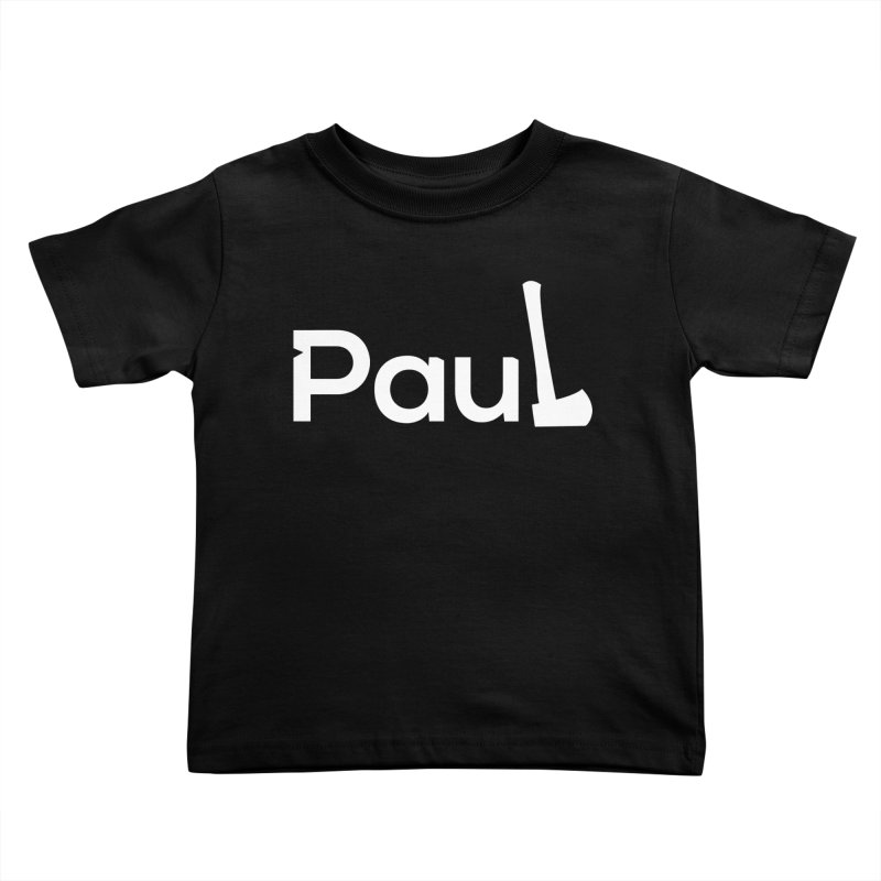Paul With An Axe T-shirts Kids Toddler T-Shirt by Life Lurking's Artist Shop