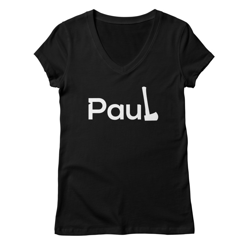 Paul With An Axe T-shirts Women's V-Neck by Life Lurking's Artist Shop