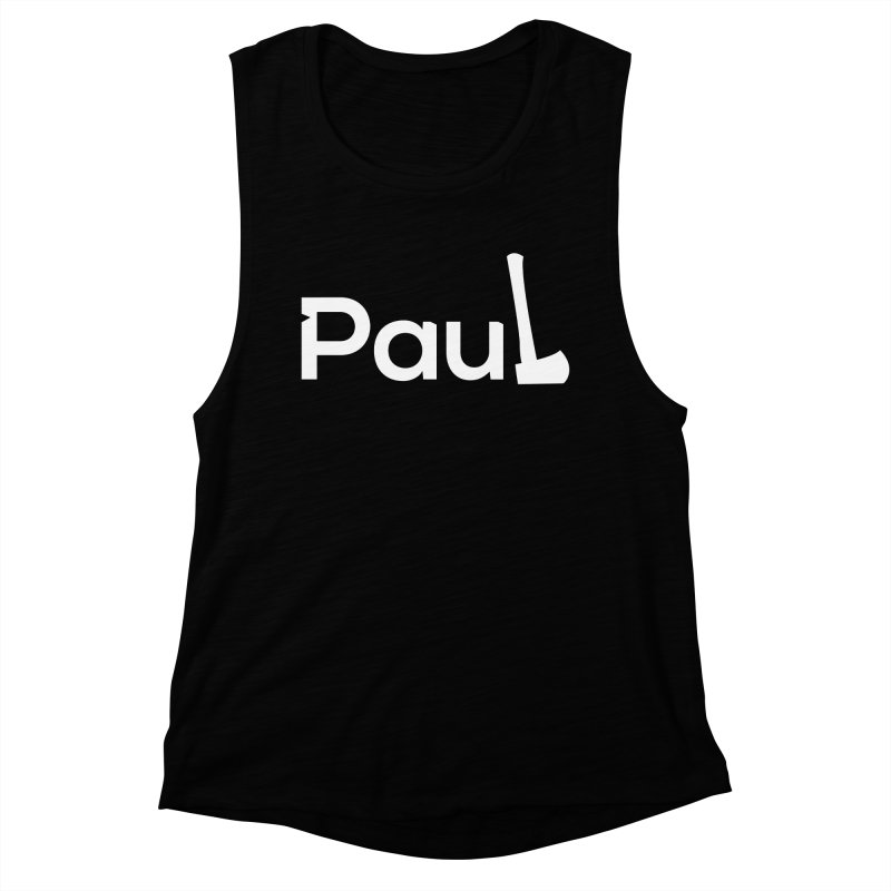 Paul With An Axe T-shirts Women's Tank by Life Lurking's Artist Shop
