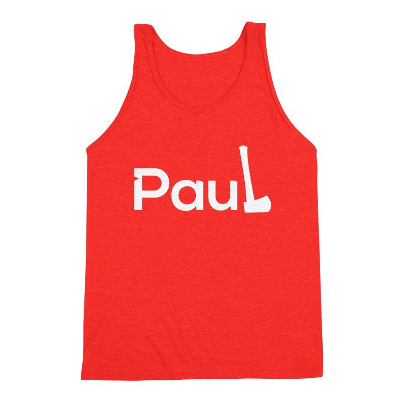 Paul With An Axe T-shirts Men's Tank by Life Lurking's Artist Shop