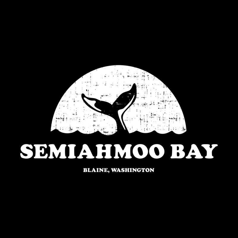 Semiahmoo Bay Whale T-shirt Women's Tank by Life Lurking's Artist Shop