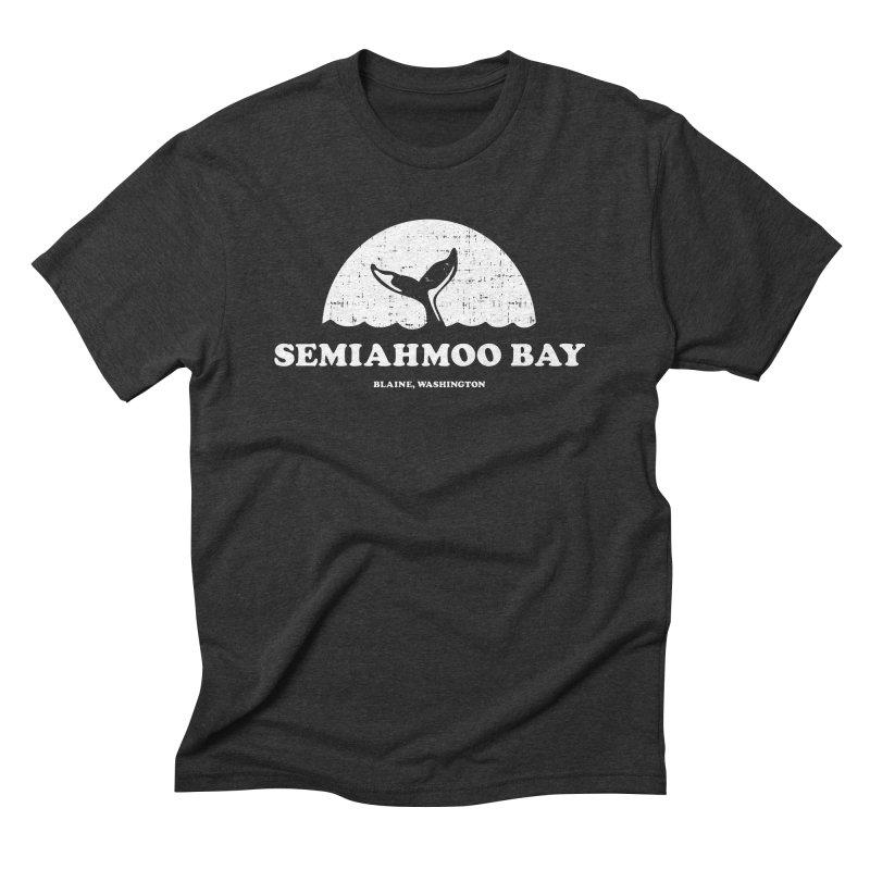 Semiahmoo Bay Whale T-shirt Men's T-Shirt by Life Lurking's Artist Shop