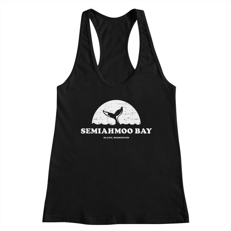 Semiahmoo Bay Whale T-shirt Women's Tank by Life Lurking's Artist Shop