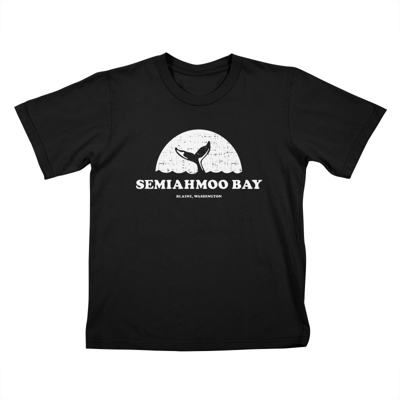 Semiahmoo Bay Whale T-shirt Kids T-Shirt by Life Lurking's Artist Shop