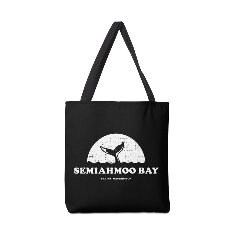 Semiahmoo Bay Whale T-shirt Accessories Bag by Life Lurking's Artist Shop