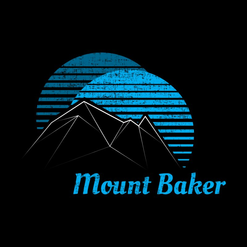 Mount Baker T-shirt Men's Tank by Life Lurking's Artist Shop