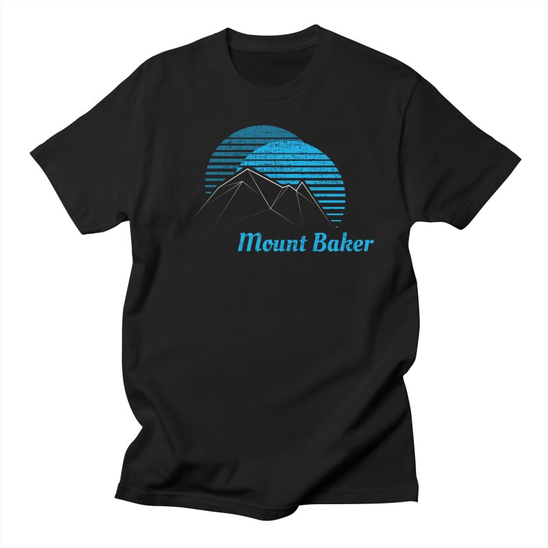 Mount Baker T-shirt Men's T-Shirt by Life Lurking's Artist Shop