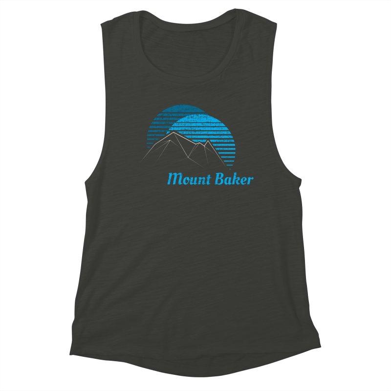 Mount Baker T-shirt Women's Tank by Life Lurking's Artist Shop