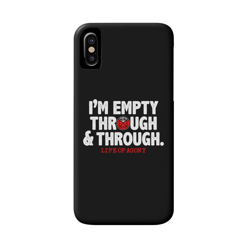 "Life of Agony ""Through and Through"" Lyric Design Accessories Phone Case by Life of Agony Official Threadless Designs"
