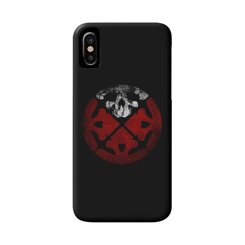 Life of Agony Skull Logo Texure [Small] Accessories Phone Case by Life of Agony Official Threadless Designs