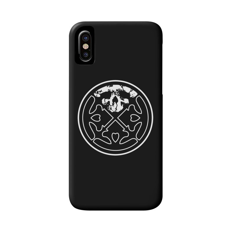 Life of Agony Skull Logo Black & White Design Accessories Phone Case by Life of Agony Official Threadless Designs