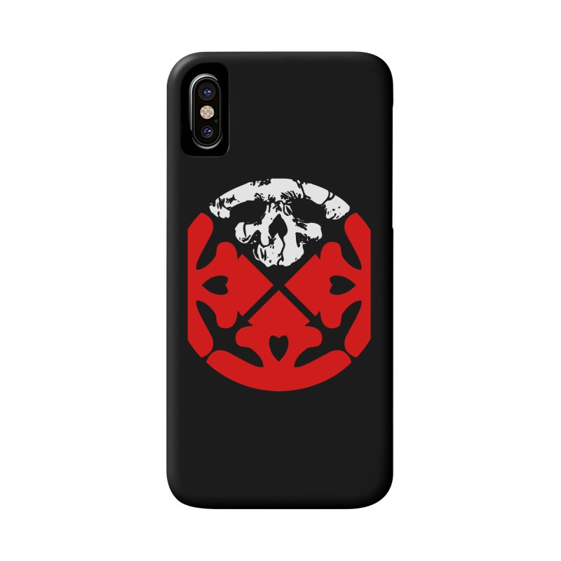 Life of Agony Skull Logo Color Oversized Design Accessories Phone Case by Life of Agony Official Threadless Designs