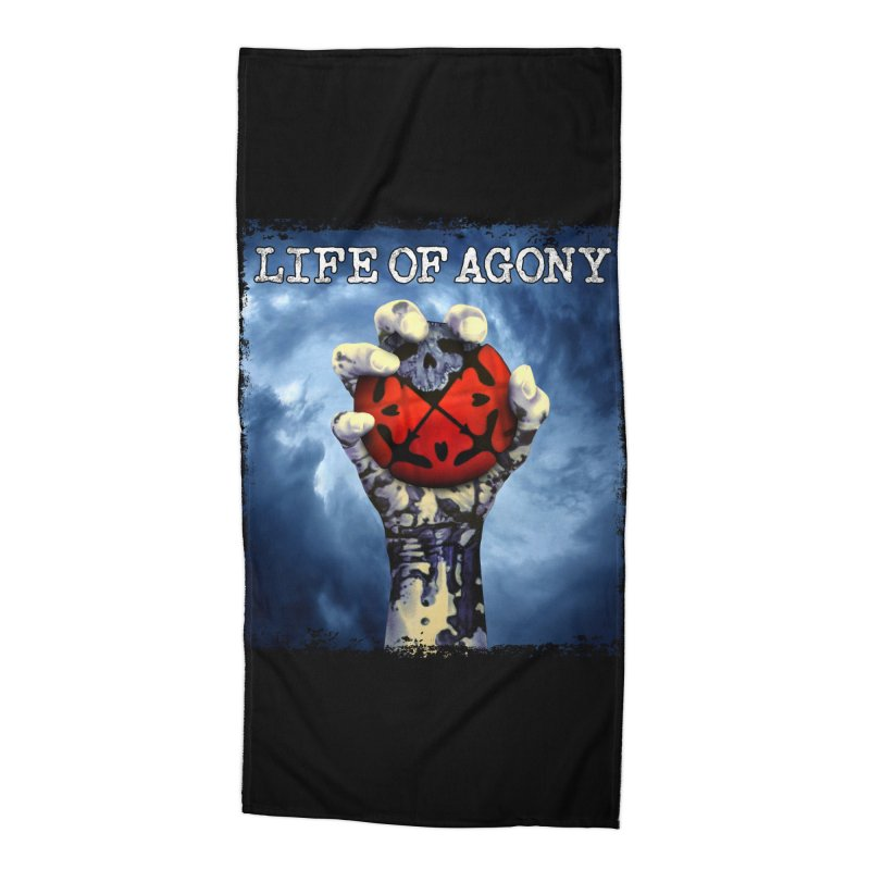 "Life of Agony ""Rise of the Underground"" Design Accessories Beach Towel by Life of Agony Official Threadless Designs"