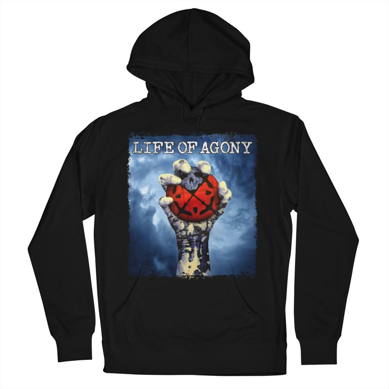 "Life of Agony ""Rise of the Underground"" Design in Men's French Terry Pullover Hoody Black by Life of Agony Official Threadless Designs"