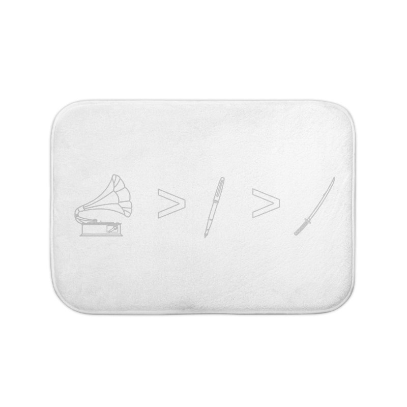 Greater Than. Light. Home Bath Mat by lightclub's Artist Shop