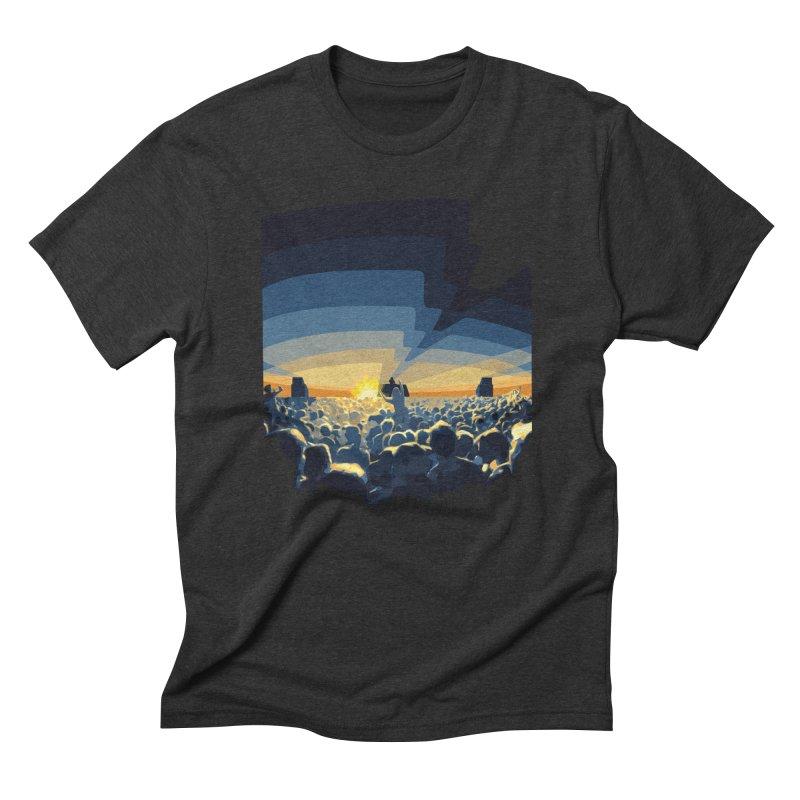 Dawn Club Men's T-Shirt by lightclub's Artist Shop