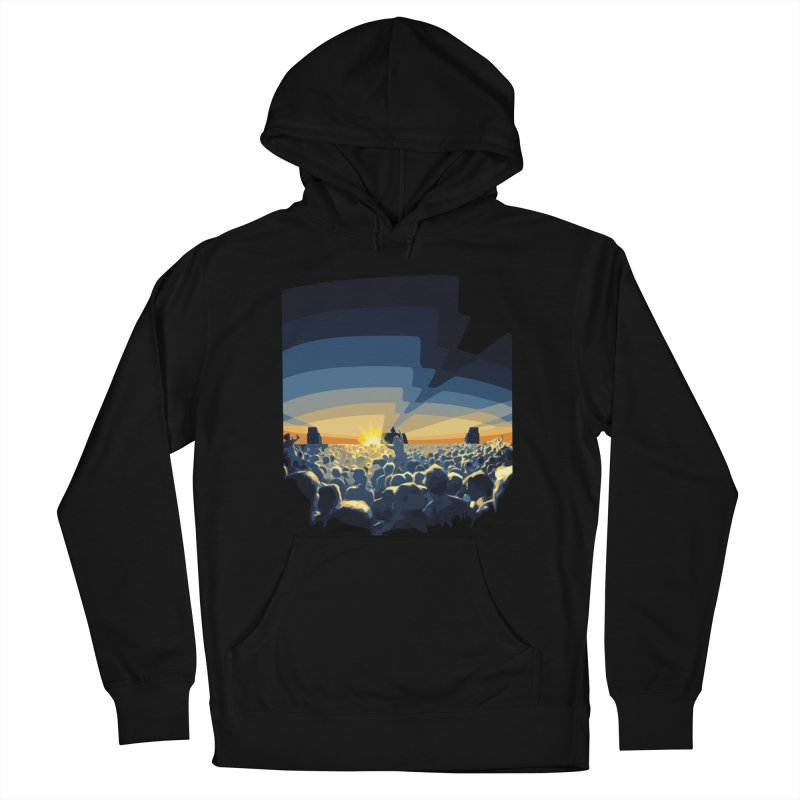 Dawn Club Men's French Terry Pullover Hoody by lightclub's Artist Shop