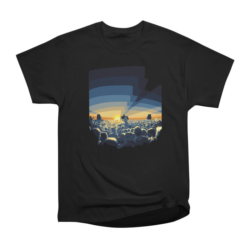 Dawn Club Men's Classic T-Shirt by lightclub's Artist Shop