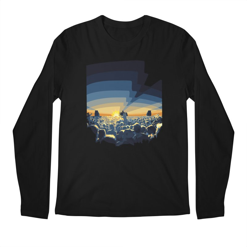 Dawn Club Men's Regular Longsleeve T-Shirt by lightclub's Artist Shop
