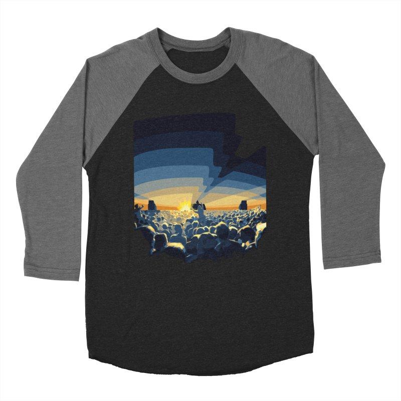 Dawn Club Men's Baseball Triblend T-Shirt by lightclub's Artist Shop