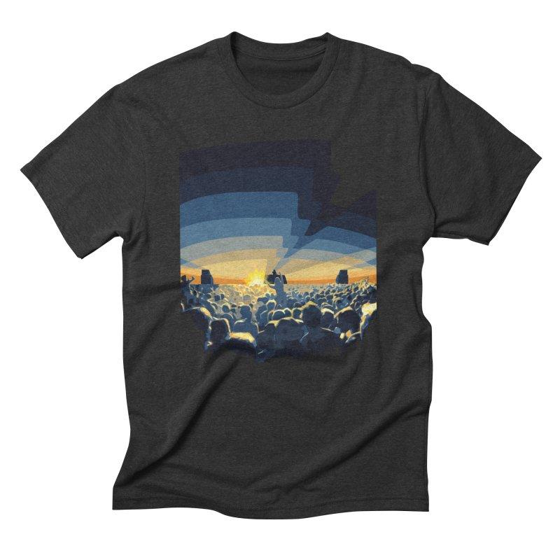 Dawn Club Men's Triblend T-shirt by lightclub's Artist Shop