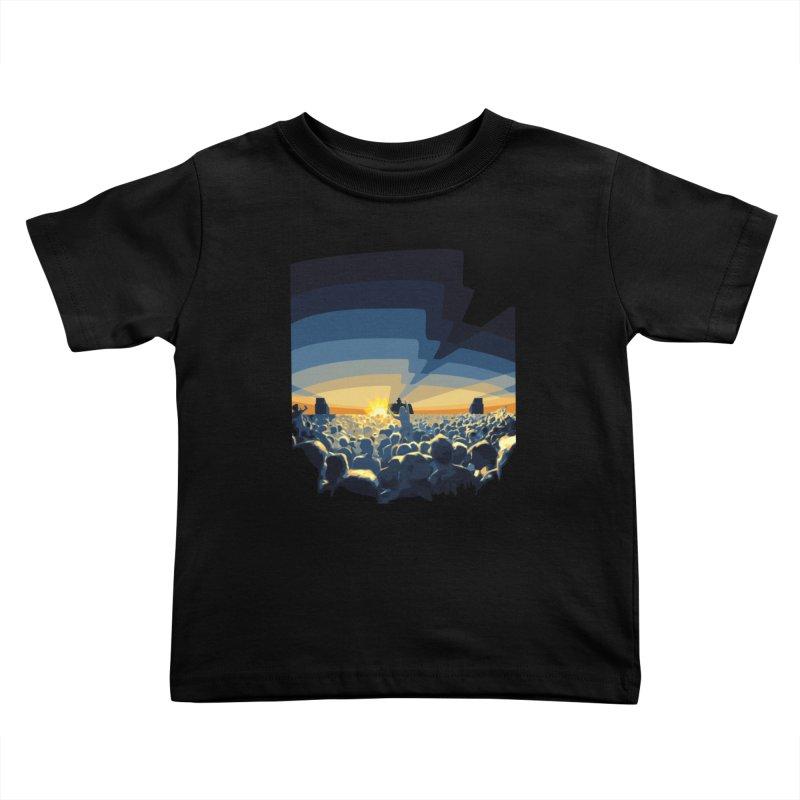 Dawn Club Kids Toddler T-Shirt by lightclub's Artist Shop