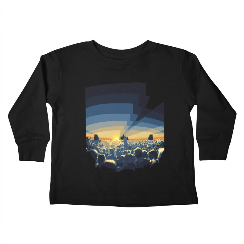 Dawn Club Kids Toddler Longsleeve T-Shirt by lightclub's Artist Shop