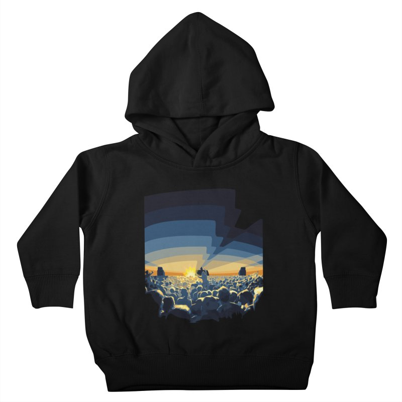 Dawn Club Kids Toddler Pullover Hoody by lightclub's Artist Shop
