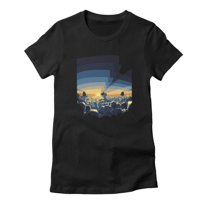 Dawn Club Women's T-Shirt by lightclub's Artist Shop