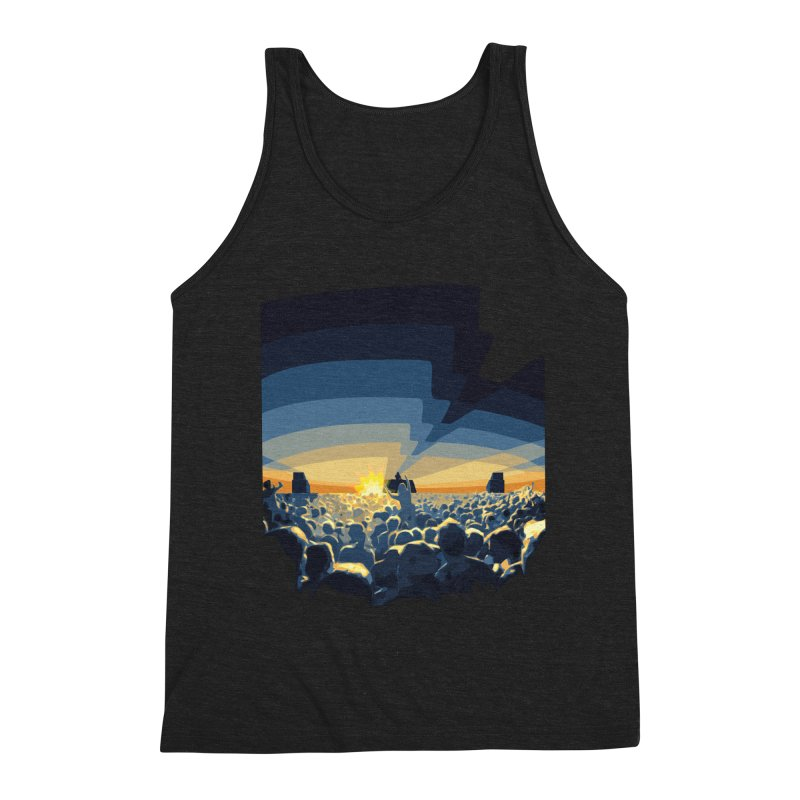 Dawn Club Men's Triblend Tank by lightclub's Artist Shop