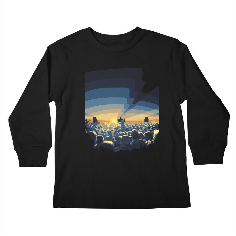 Dawn Club Kids Longsleeve T-Shirt by lightclub's Artist Shop