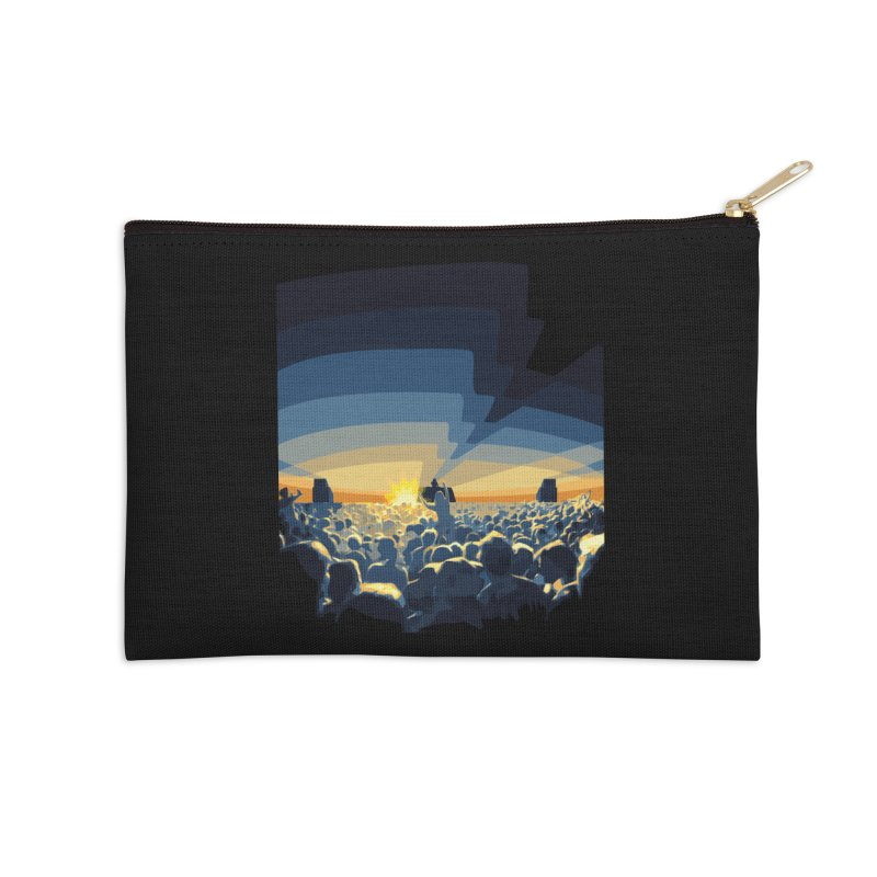 Dawn Club Accessories Zip Pouch by lightclub's Artist Shop