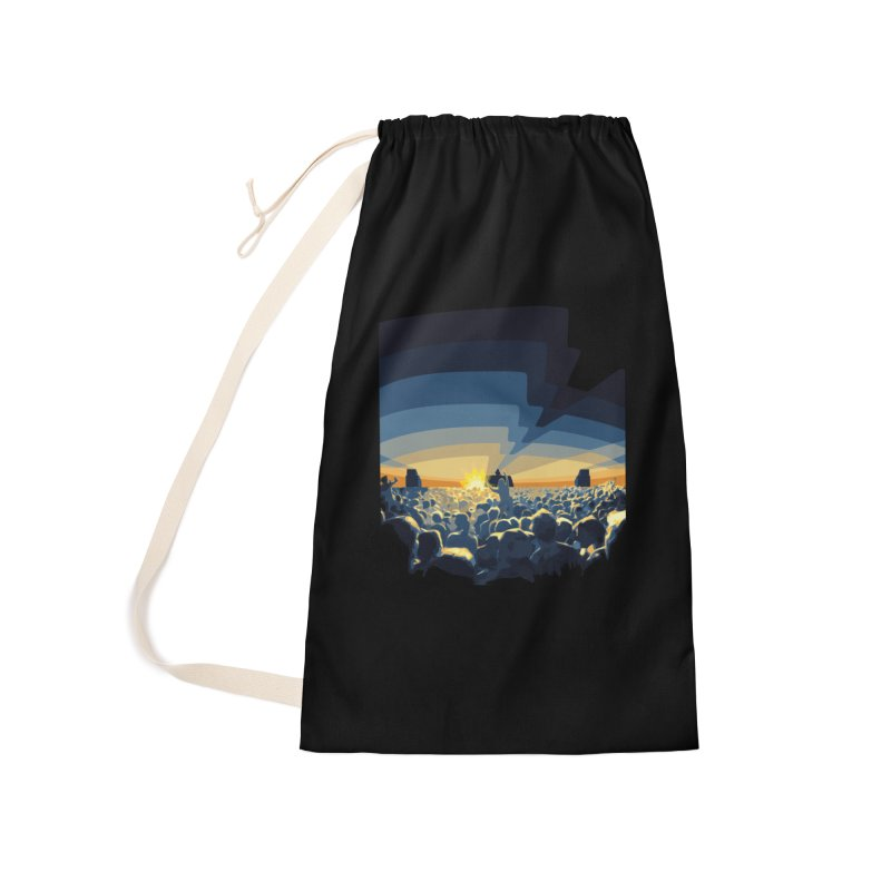 Dawn Club Accessories Laundry Bag Bag by lightclub's Artist Shop