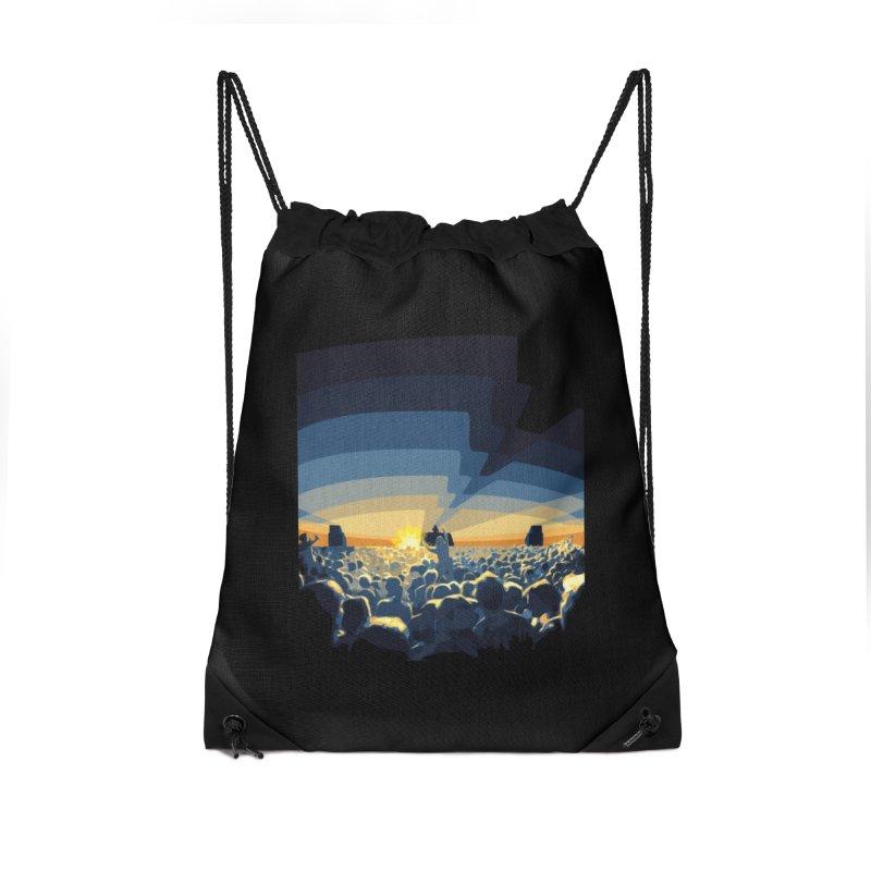 Dawn Club Accessories Drawstring Bag Bag by lightclub's Artist Shop