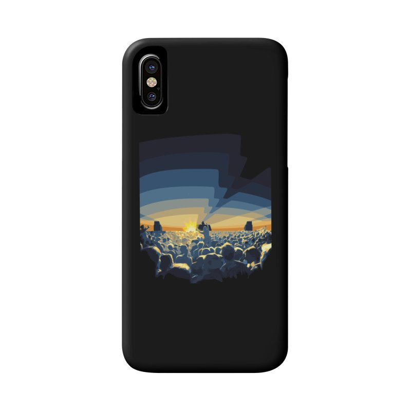 Dawn Club Accessories Phone Case by lightclub's Artist Shop