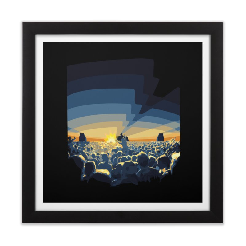 Dawn Club Home Framed Fine Art Print by lightclub's Artist Shop