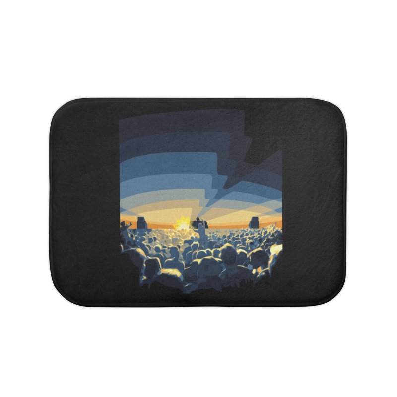 Dawn Club Home Bath Mat by lightclub's Artist Shop